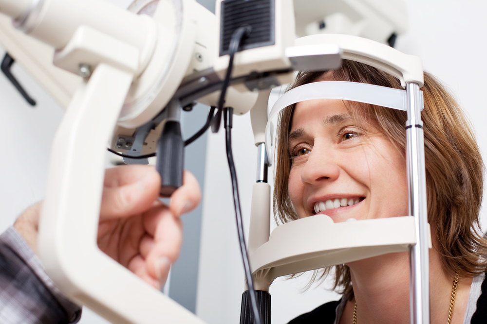 Schedule an eye exam for any symptoms of diabetes-related vision loss.