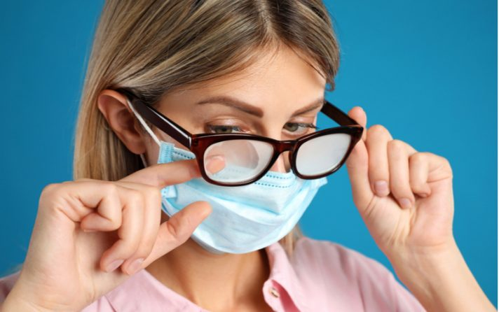 Avoid Your Glasses Fogging Up from Wearing a Mas